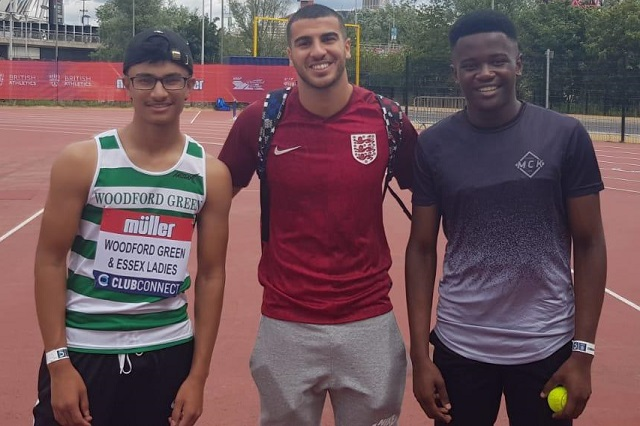 Aiden and Merveilles with Gemili