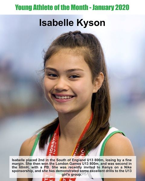 January 2020 Isabelle Kyson