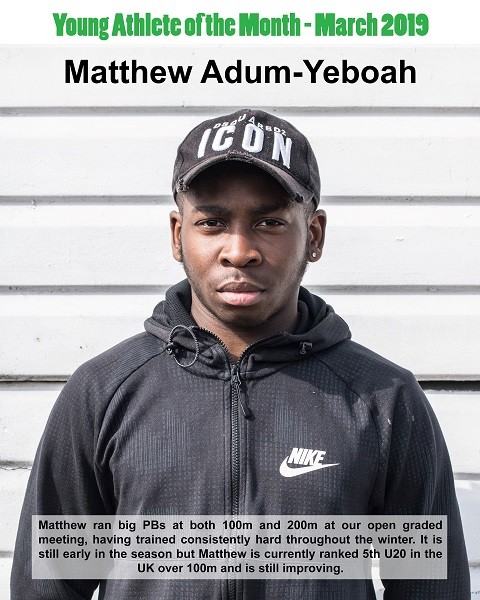 March 2019 Matthew Adum-Yeboah