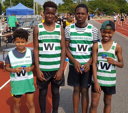 U13 Essex Relays Boys